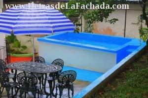 Area de la piscina- terraza