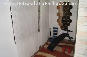 Terraza acondicionada para ejercicios