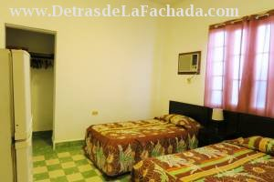 Bedroom with private bathrooms, amenities