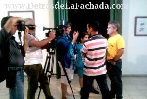 Alfredo Martirena en expo personal