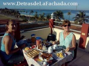 Desayunos exquisitos en nuestro Mirador.