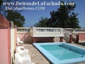 Casa en la playa boca ciega playas del este de la habana for Casas con piscina en la habana