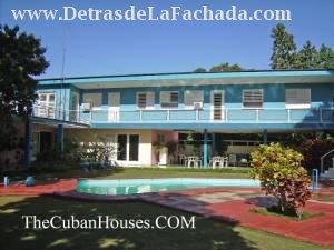 Casa con piscina en cuba habana siboney 3 habitaciones for Casas con piscina en la habana