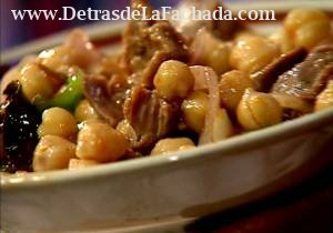 Chickpeas stews from our cuisine