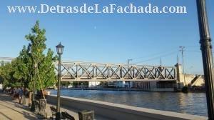 Rio San Juan y vista parcial de puente de Tirry