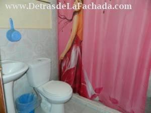 Cuarto de baño habitaion No. 2 entrada