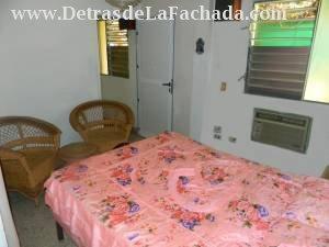 Dormitorio de la habitacion No.1 vista de fondo