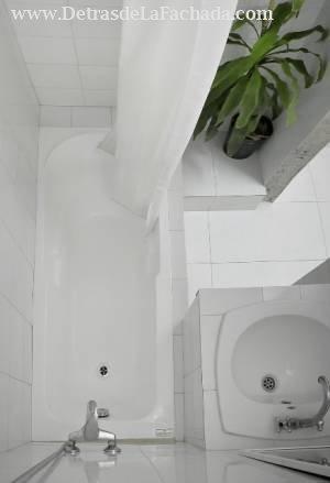 Baño de cuarto pequeño
