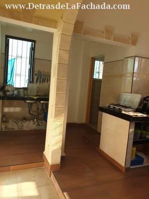 Vista parcial cocina