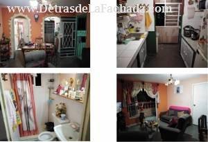 Sala, baño, balcón y cocina