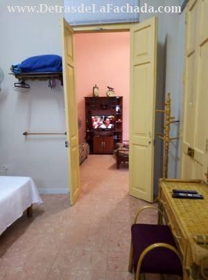 Vista desde una habitación a la sala
