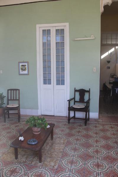 Vista entrada del balcón