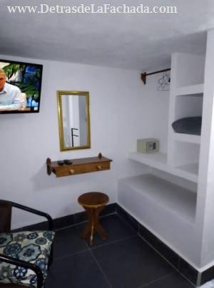 Habitacion del apartamentico con closet