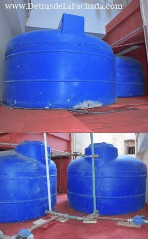 Reserva de 3000 litro de agua, + agua las 24h