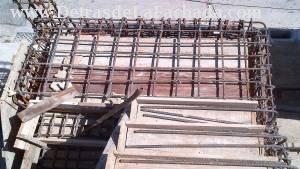 Cabillas de escalera interior acceso a 2da Planta