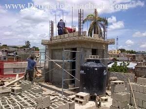 Construcción del Tanque elevado de Agua