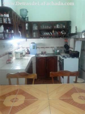 Cocina desde la cocina auxiliar